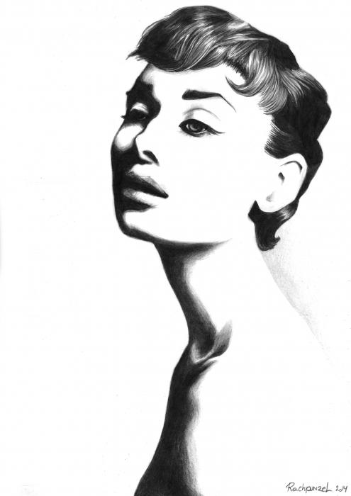 Audrey Hepburn por Rachpunzel